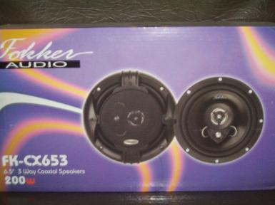ลำโพง Fokker audio FK-CX 653 6.5""