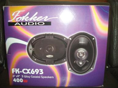 ลำโพง Fokker audio FK-CX 693 6x9""